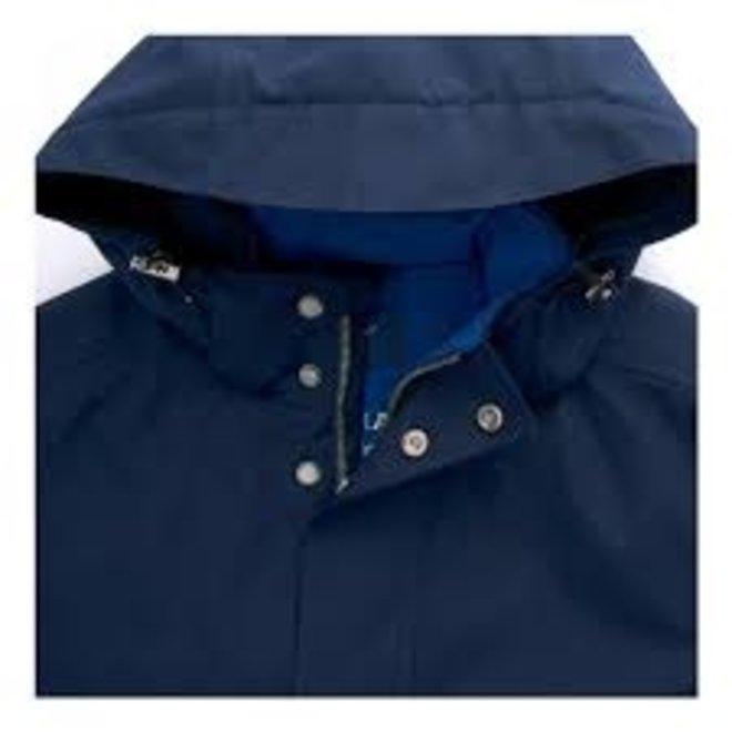 The Rough Weather Sucker Men's Parka -Navy blue