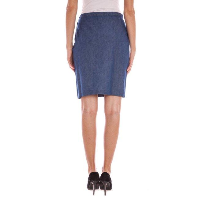 Longuette skirt Blue