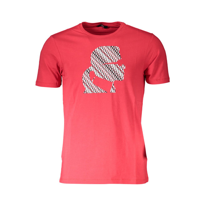 Cotton crew neck T-shirt - Red