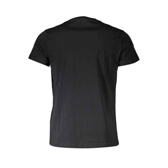 T-Diego A3  Regular-slim T-shirt with tactile print - Black