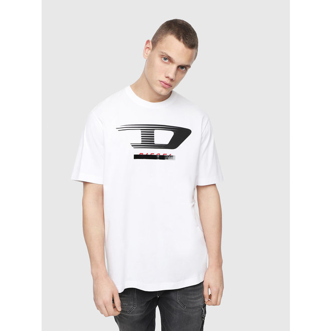 T-Just Y4 Jersey T-shirt with d logo - White