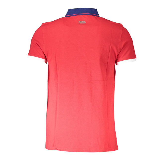 Basic Polo Shirt - Red