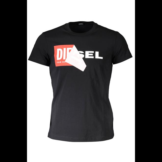 T-Diego-QA T-shirt - Black