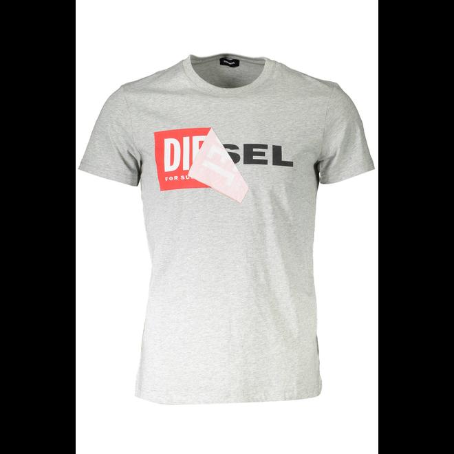 T-Diego-QA T-shirt - Grey