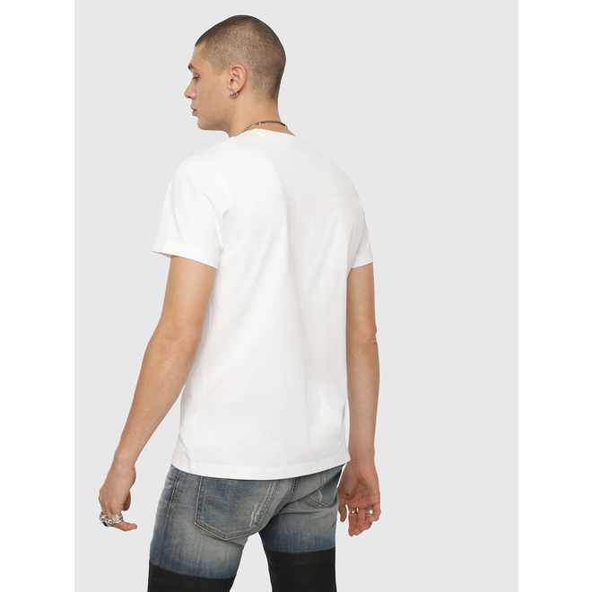 Diesel T-Diego YH Star-print T-Shirt with regular-slim fit - White
