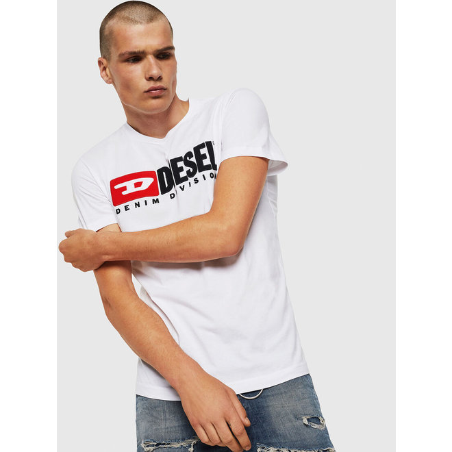 T-Diego Division Embroidered T-shirt - White