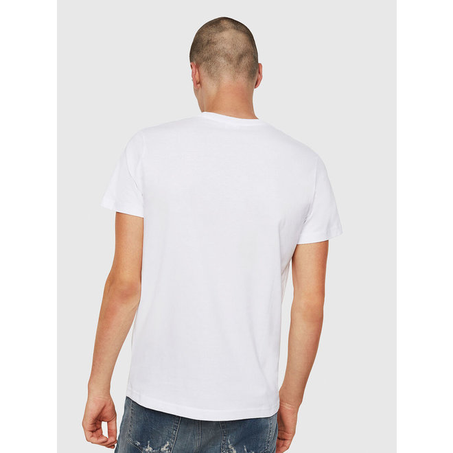Diesel T-Diego Division Embroidered T-shirt - White