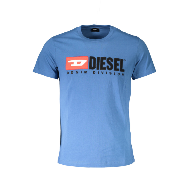 T-Diego Division Embroidered T-shirt - Blue