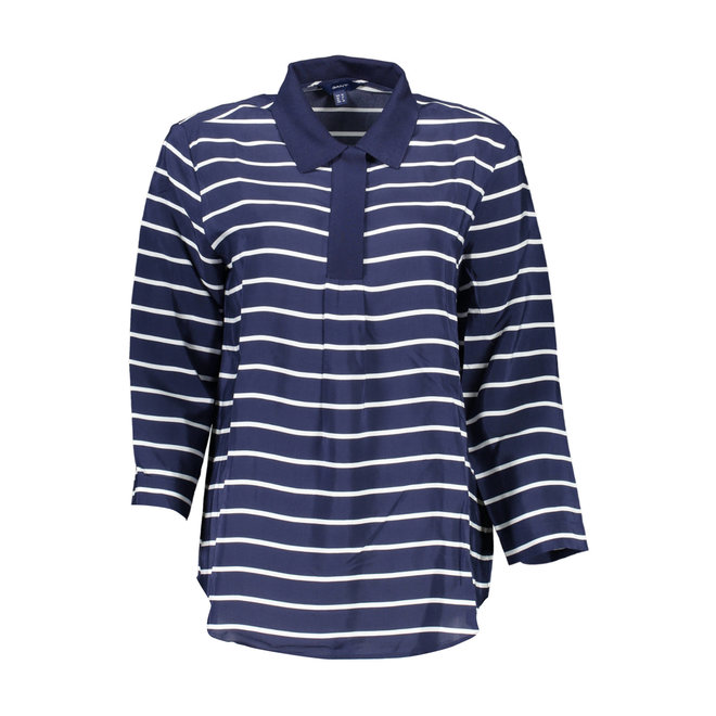 Polo shirt with 3/4 sleeves Women