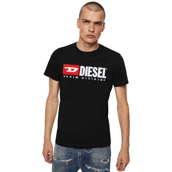 T-Diego Division Embroidered T-shirt - Black