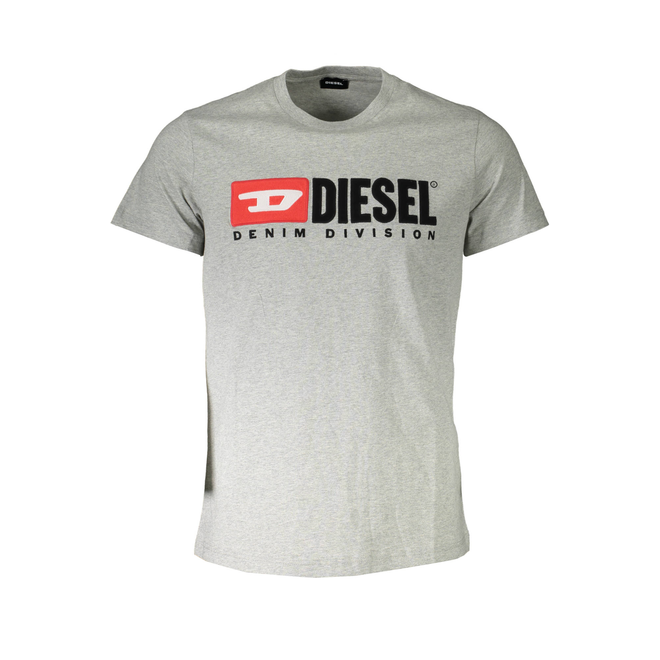 T-Diego Division Embroidered T-shirt  - Grey