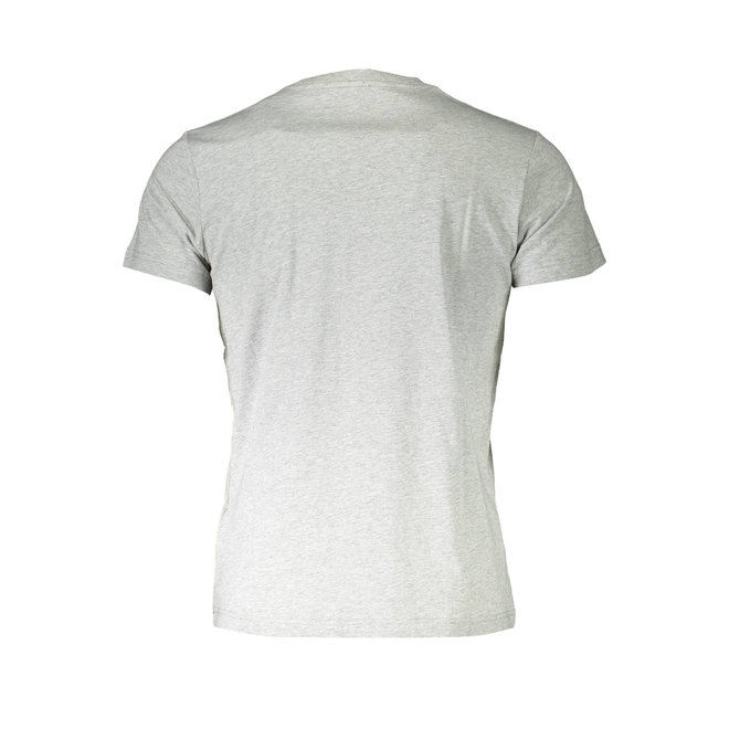 T-Diego A3  Regular-slim T-shirt with tactile print - Grey