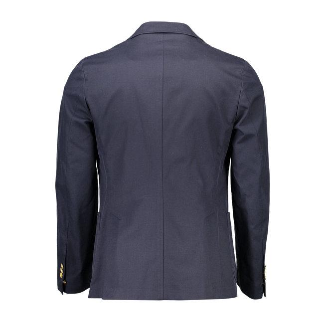 Blue  Classic Cotton  Blazer Men