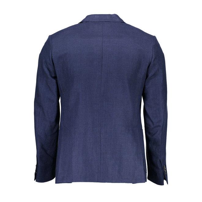 Cotton Linen Blazer Men