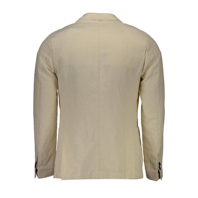 Linen Cotton mix Blazer - Beige