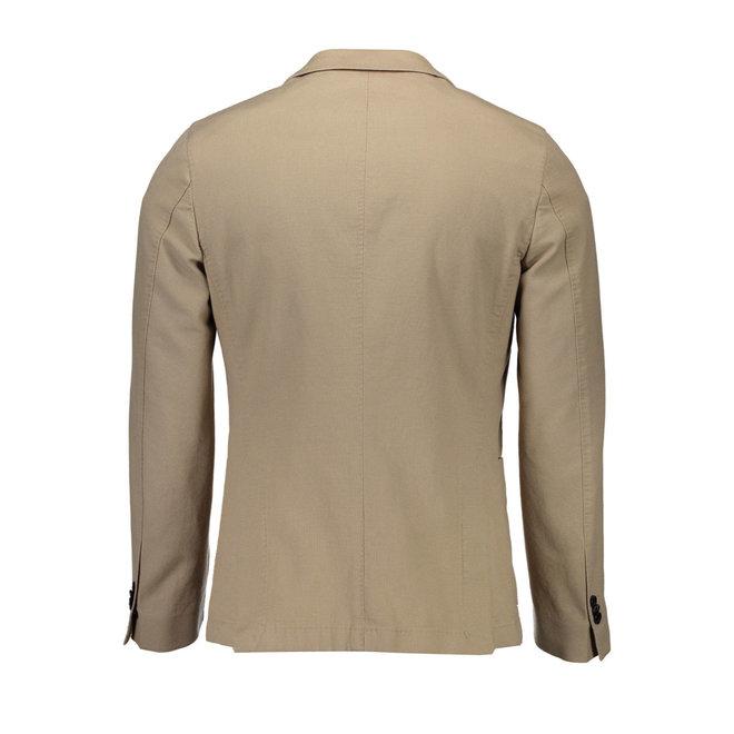 Classic Cotton  Blazer - Beige