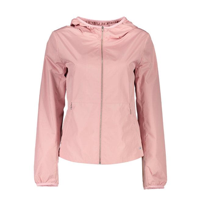 Wind Shielder Hooded Jacket - Rosa