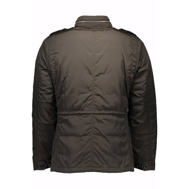 Brown Padded jacket Men