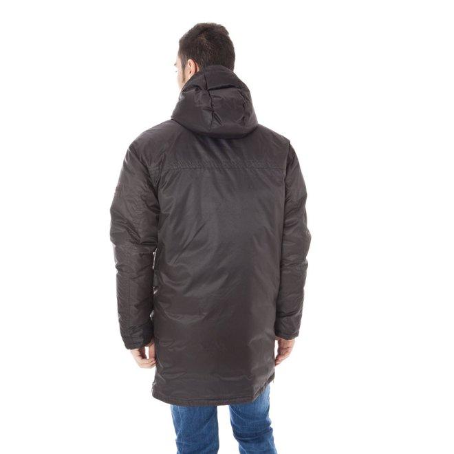 Windbreaker down jacket - Dark brown
