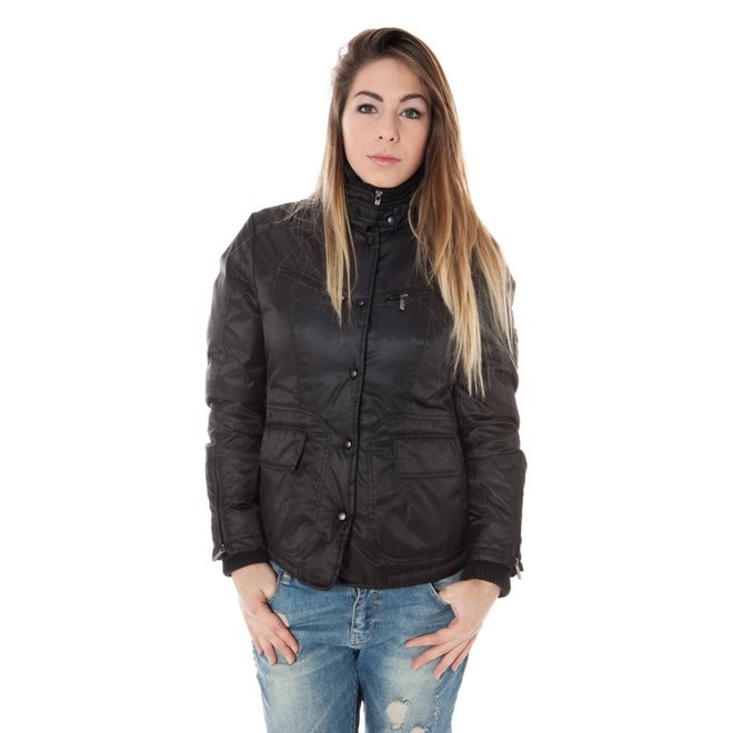 Button Front Jacket - Black