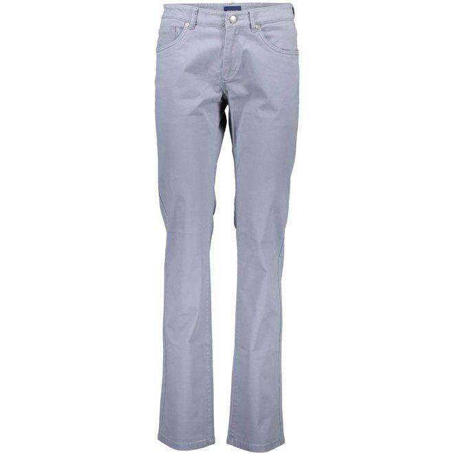 Straight Soft Jeans - Grey
