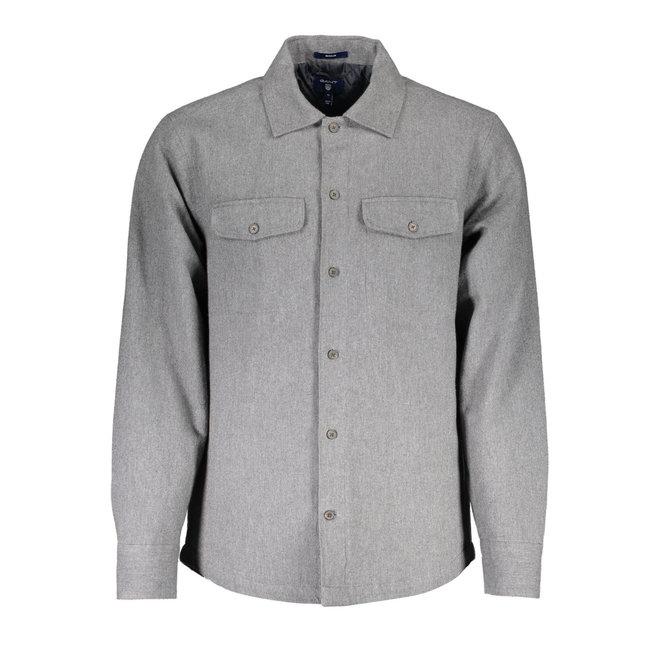 Padded Overshirt - Grey