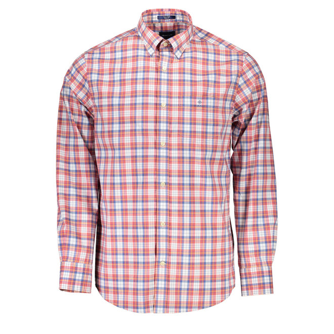 Checked Regular Fit Shirt - Red