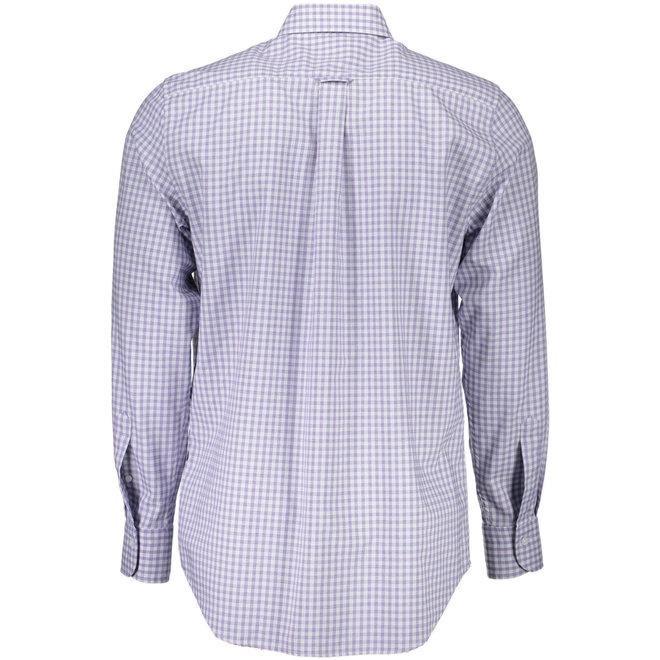 Tech Prep™ Regular Gingham Oxford Shirt - Light purple