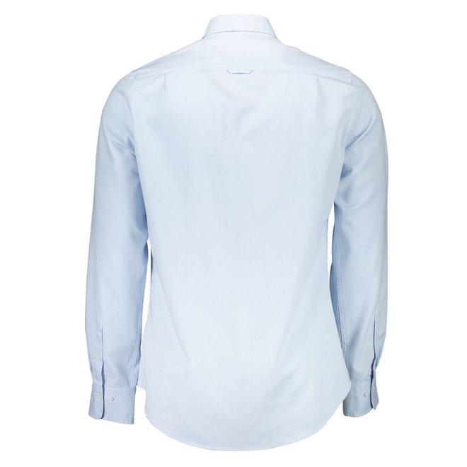 Slim Fit Tech Prep™ Oxford Shirt -  Ocean blue