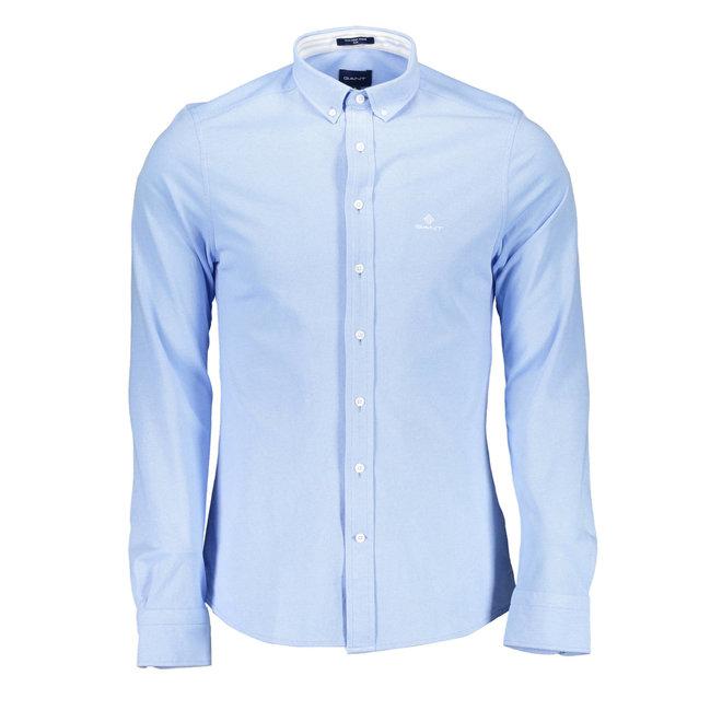 Tech Prep™ Slim Pique Shirt - Capri Blue