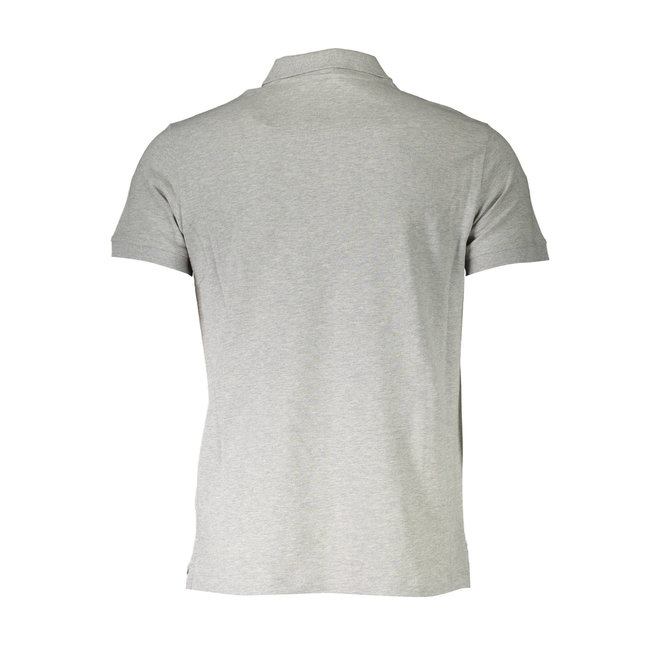 Diesel T-weet -split Pique polo shirt with double logo - Grey