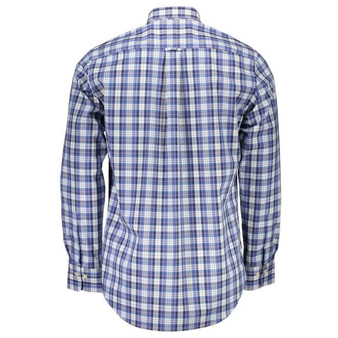 Checked Regular Fit Shirt -Blue
