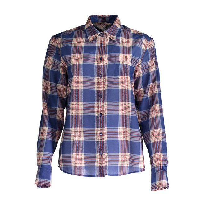 Cotton/silk  Shirt with long Sleeves