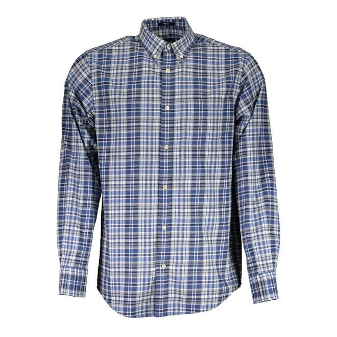 Regular Fit Winter Twill Heather Shirt - Vintage Blue