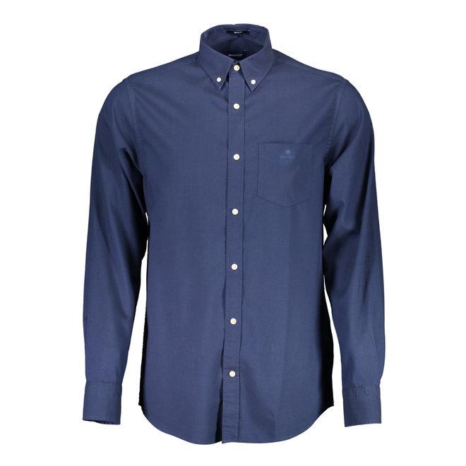 Regular Fit Winter Twill Shirt - Blue