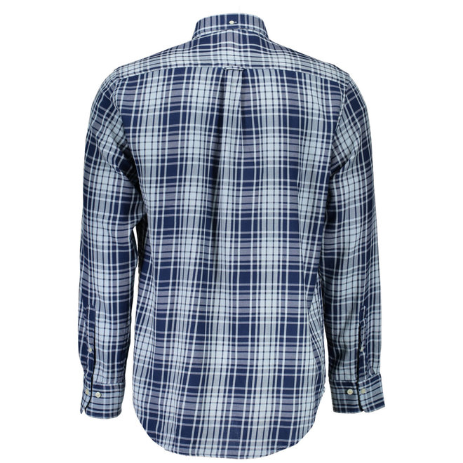 Regular Windblown Flannel Indigo
