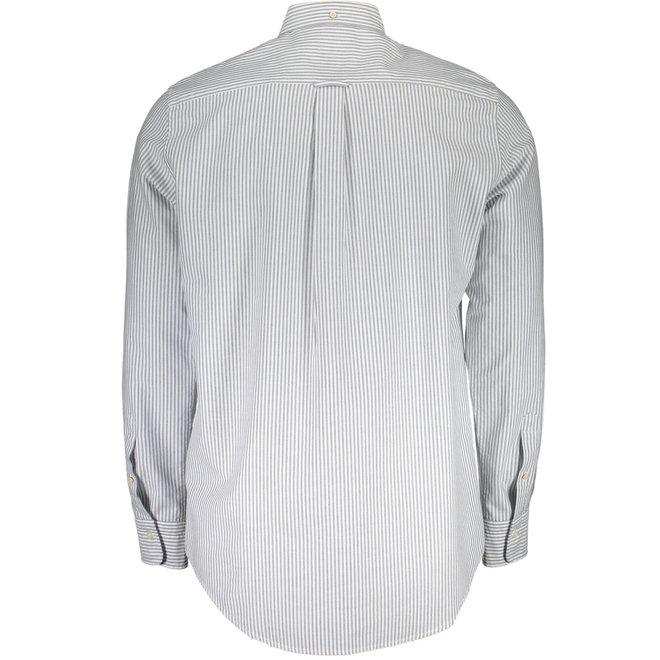 Regular Fit Banker Oxford Shirt - Light blue
