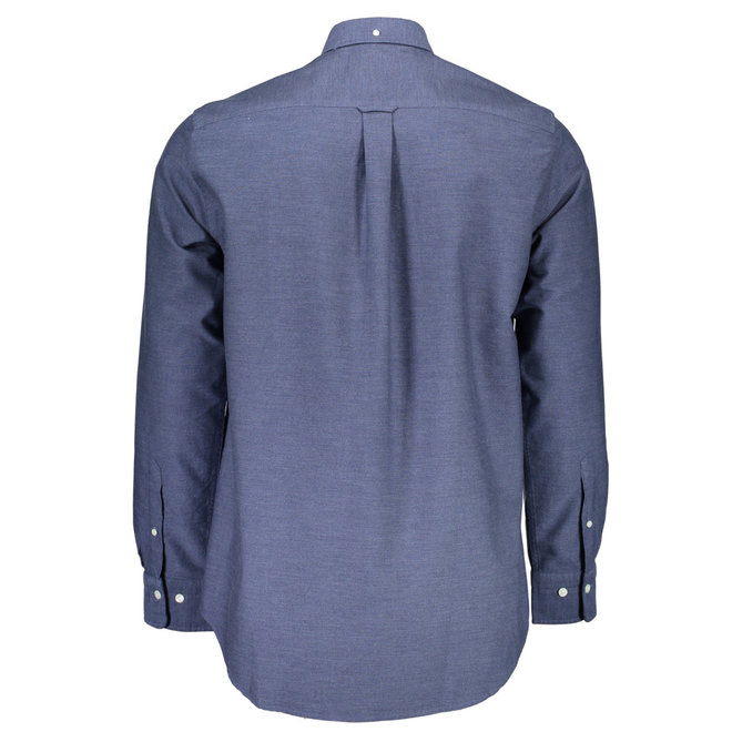 Regular Heather Oxford Shirt - Marine