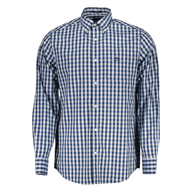 Regular Fit Gingham Heather Oxford Shirt