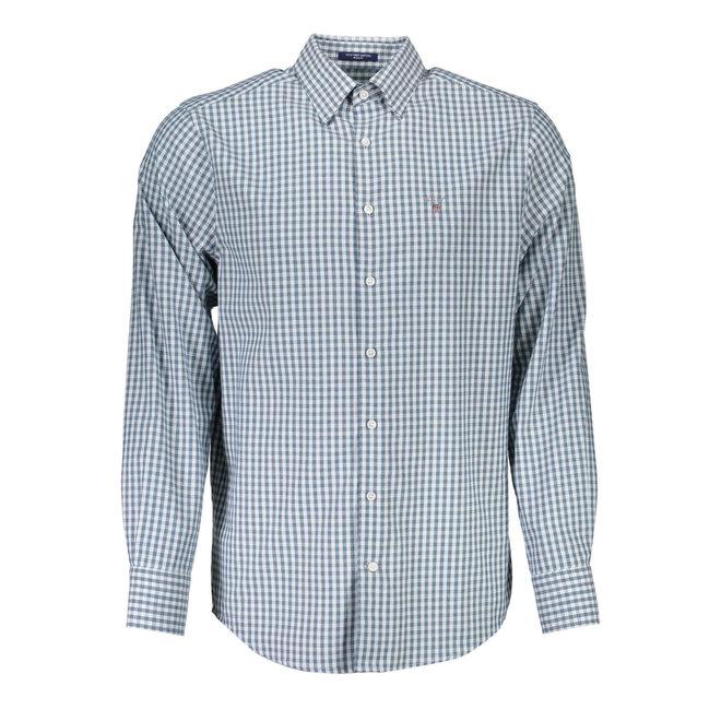 Tech Prep™ Regular Gingham Oxford Shirt - Green