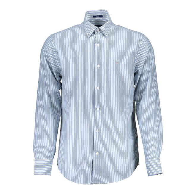 Multistripe Tech Prep™ Oxford shirt -Light blue