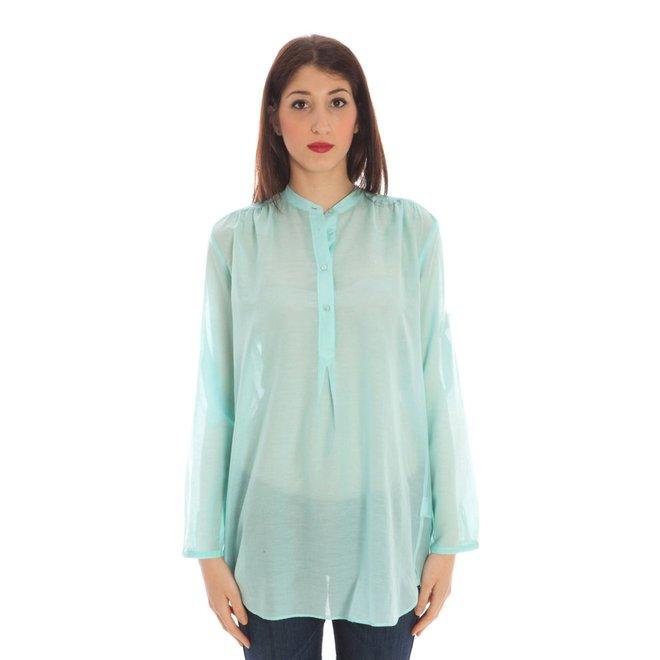 Chiffon tunic shirt women