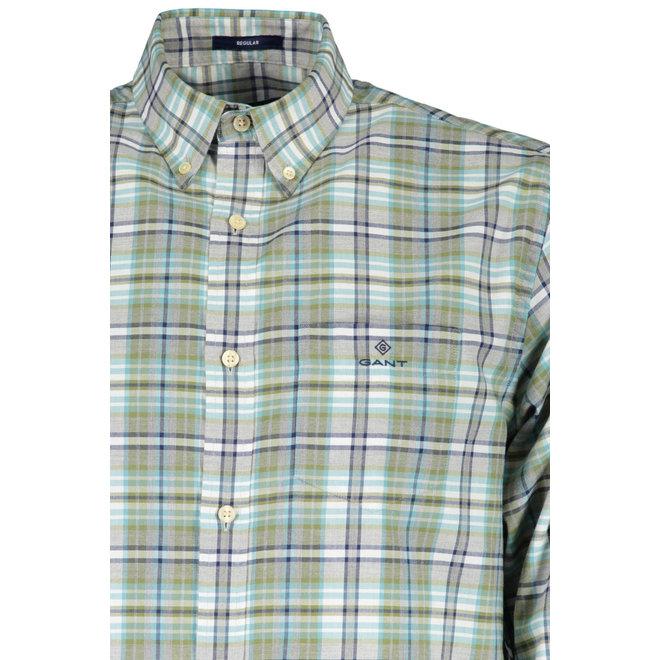 Regular Fit Winter Twill Heather Shirt - Loden Green