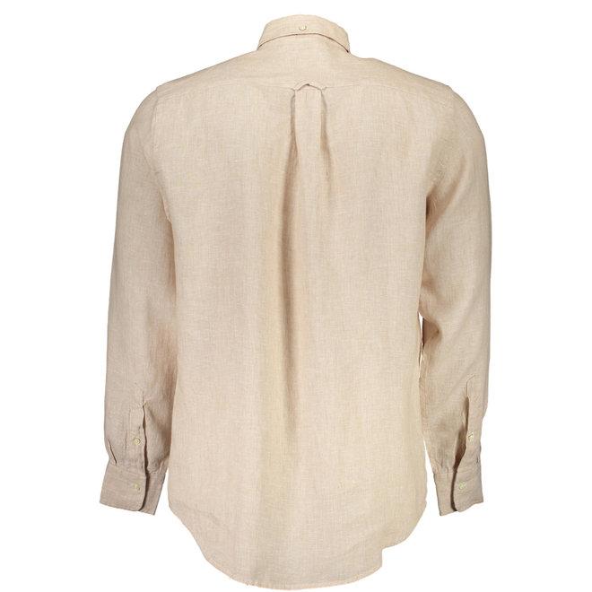 Linen Regular Fit Shirt - Sand