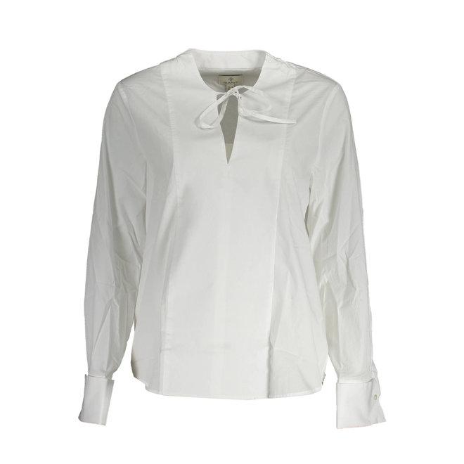 Tux Shirt with French Cuff Women - White