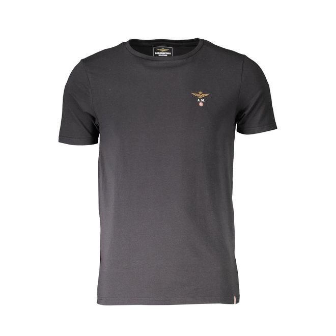 V-neck T-shirt - Black
