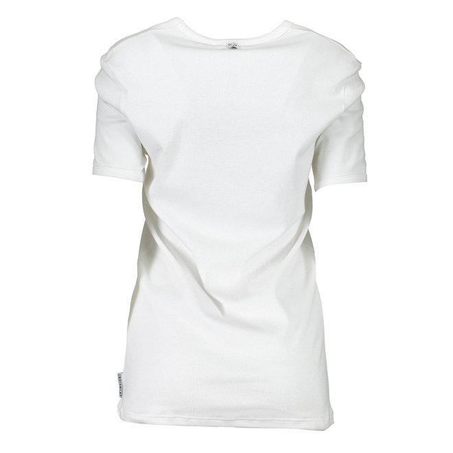 V- Neck ribbed cotton  undershirt