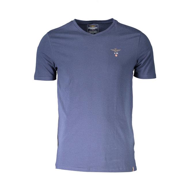 Crew neck T-shirt - Navy blue