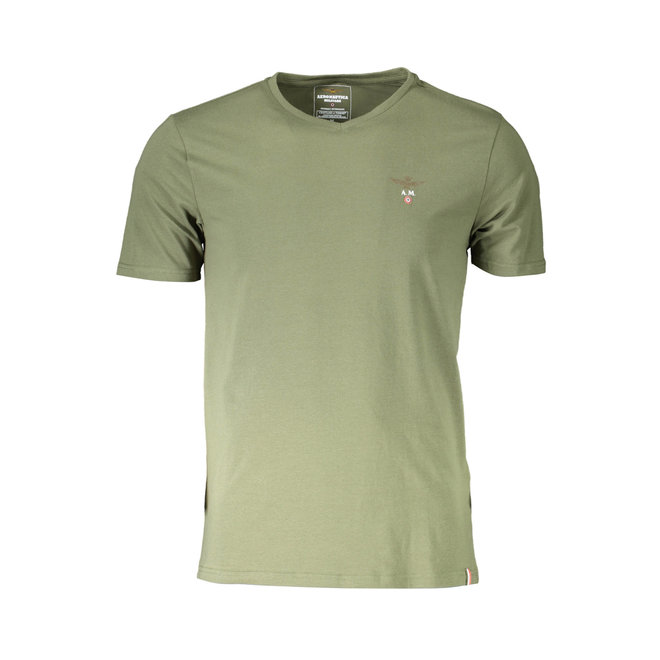 V-neck T-shirt - Army green