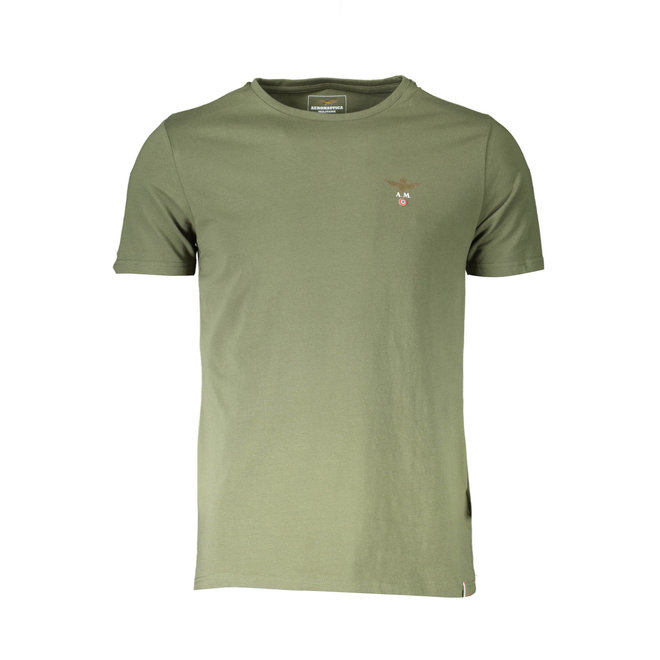 Crew neck T-shirt - Army green